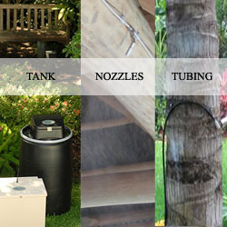 mosquito control system installation
